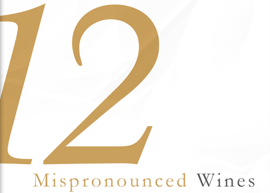 mispronounced wines